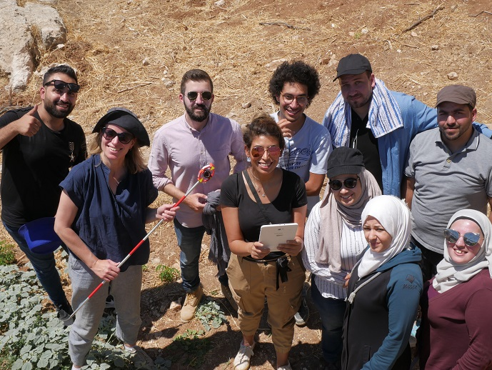 Student group in Amman