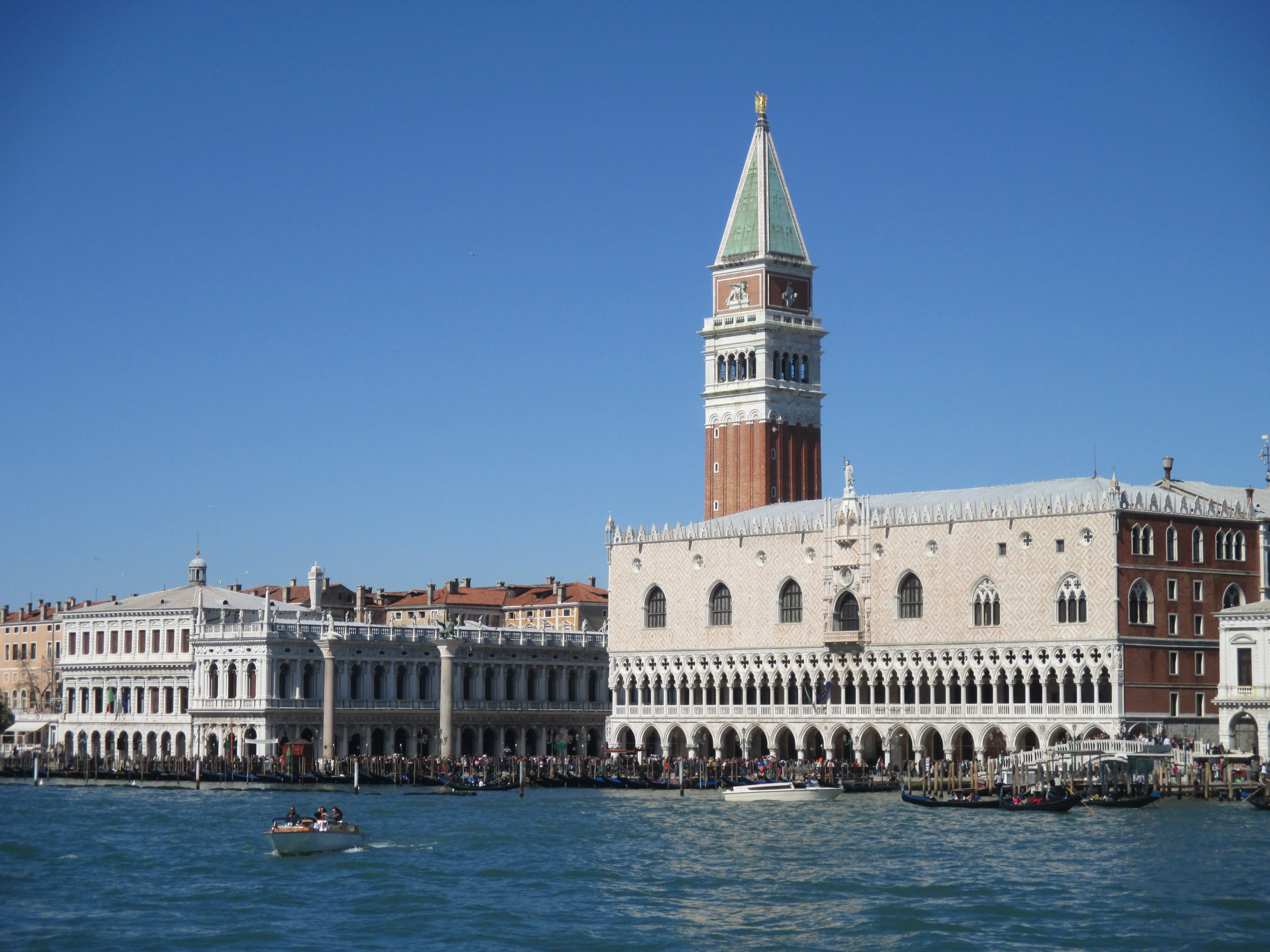 Venice. World Heritage site in risk of sea-level rise.